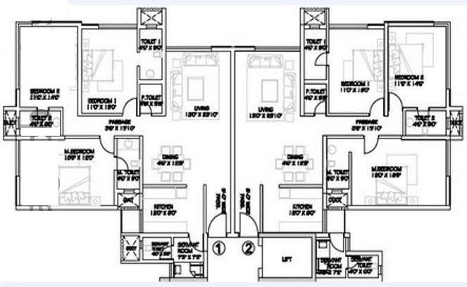 rustomjee seasons apartment 2bhk 2175sqft1