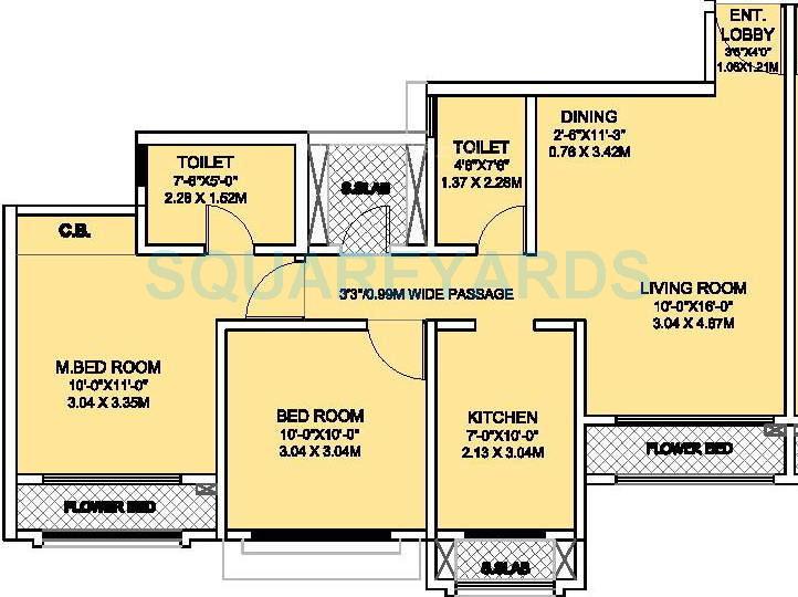 rustomjee urbania acura apartment 2bhk 932sqft1