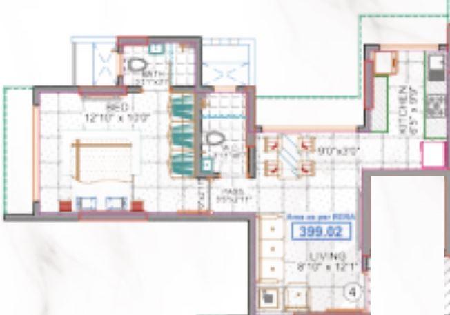 sanskruti splendour apartment 1 bhk 399sqft 20215113135124