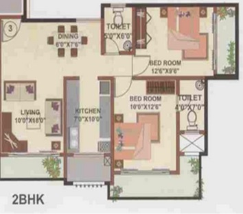 shamik elanza apartment 2bhk 1040sqft 1