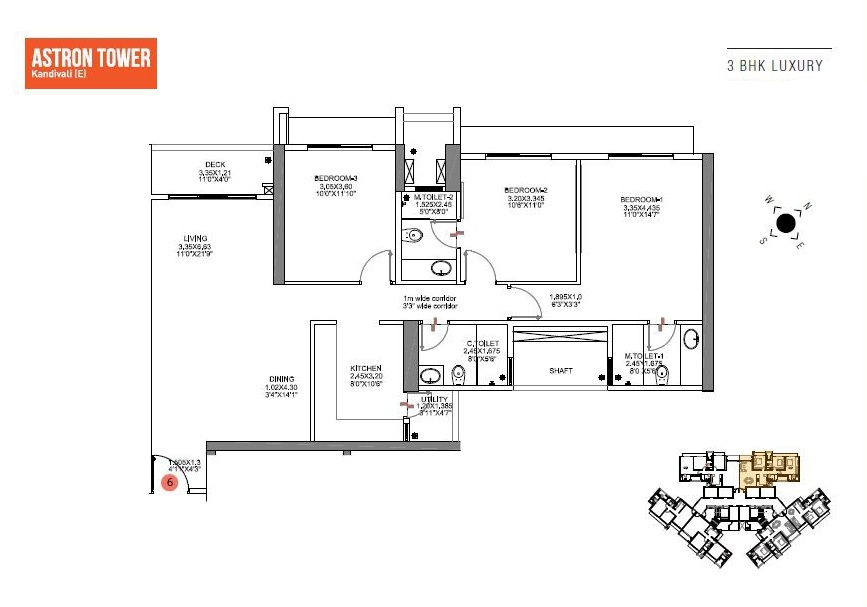 shapoorji pallonji astron apartment 3 bhk 1071sqft 20200330130358