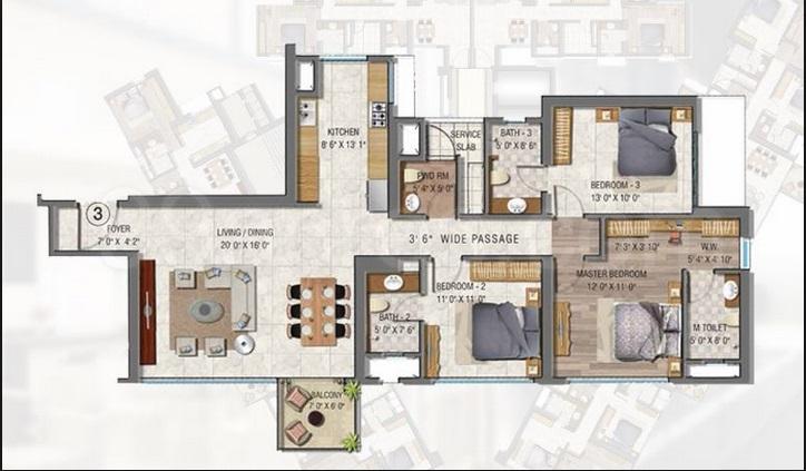 sheth auris serenity apartment 2bhk 2085sqft1