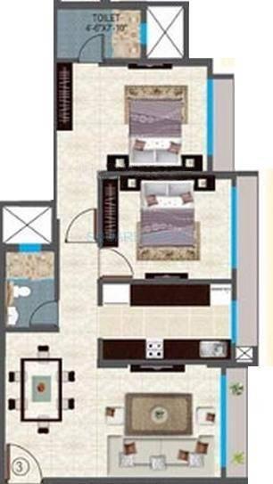 sheth midori apartment 2bhk 1040sqft1