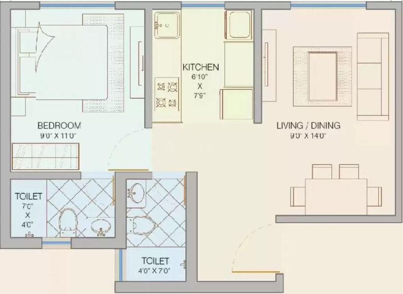 shree dadamaharaj heights apartment 1bhk 440sqft41