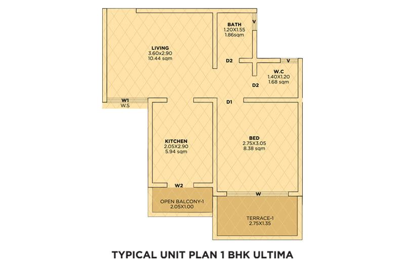 siddhivinayak riddhima apartment 1bhk 399sqft 1