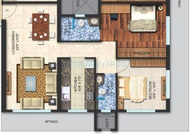spenta alta vista apartment 2bhk 1108sqft 1