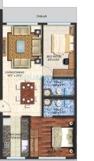 spenta alta vista apartment 2bhk 989sqft 1