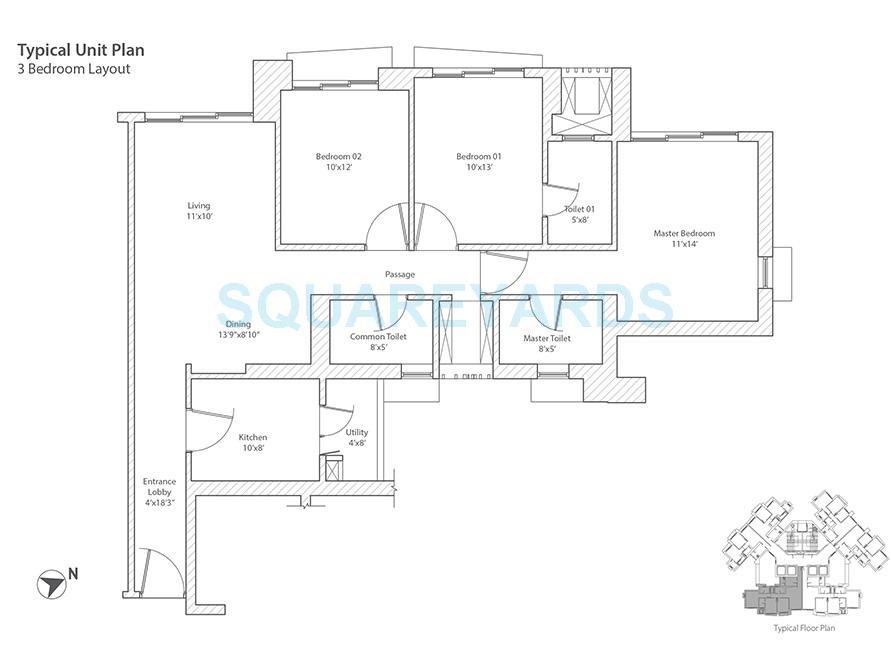 tata infinium apartment 3bhk 1762sqft 1