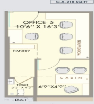 the orion business park office space  218sqft 20215809105833