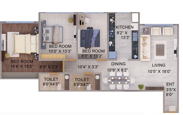 tirumala habitats apartment 2bhk 1510sqft1