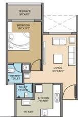 today global anandam apartment 1bhk 665sqft 1
