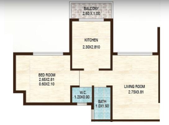vijay abode apartment 1bhk 600sqft 1