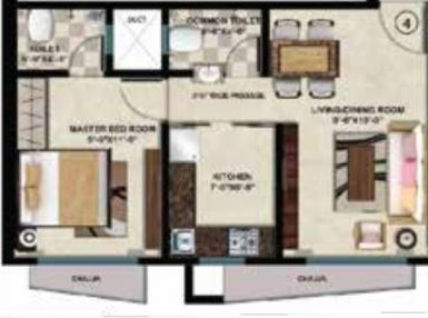 vinayak heights phase i apartment 1 bhk 407sqft 20214818144853