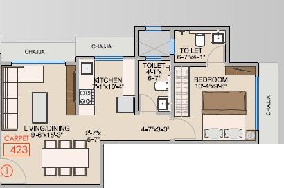 wolfpack nav viswadham chsl apartment 1bhk 423sqft41
