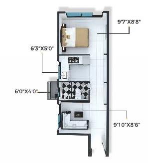 xrbia chembur central orchid d apartment 1bhk 233sqft11