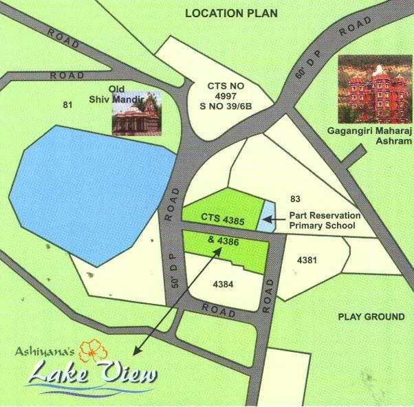 ak ashiyanas lake view project location image1