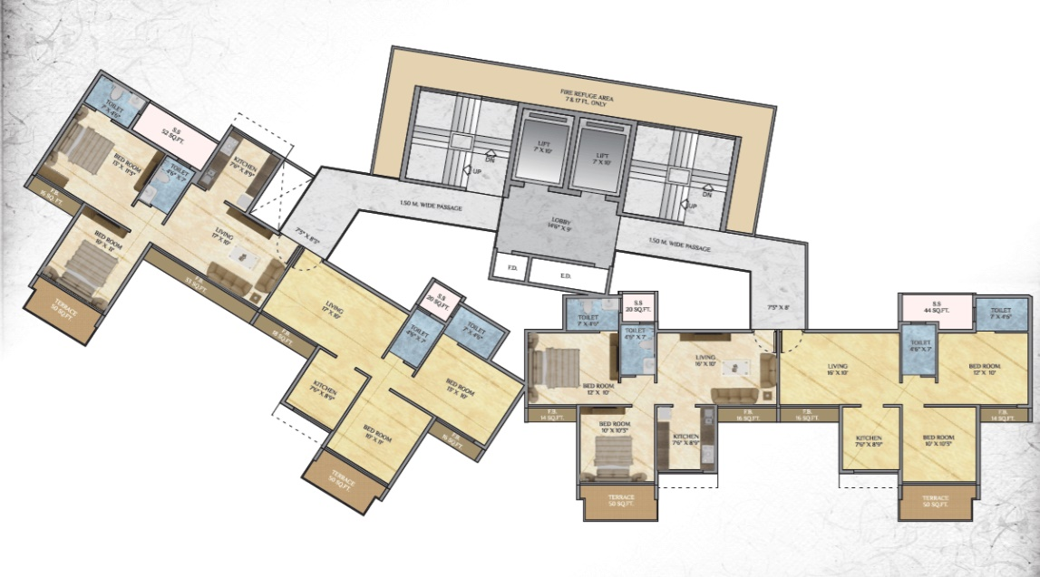 alliance one project floor plans1