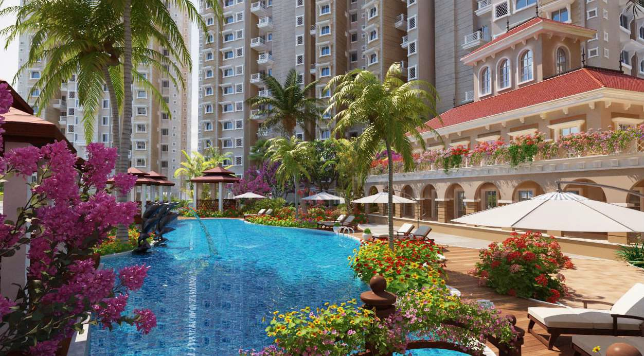 anantham rainbow county the defence enclave project tower view3