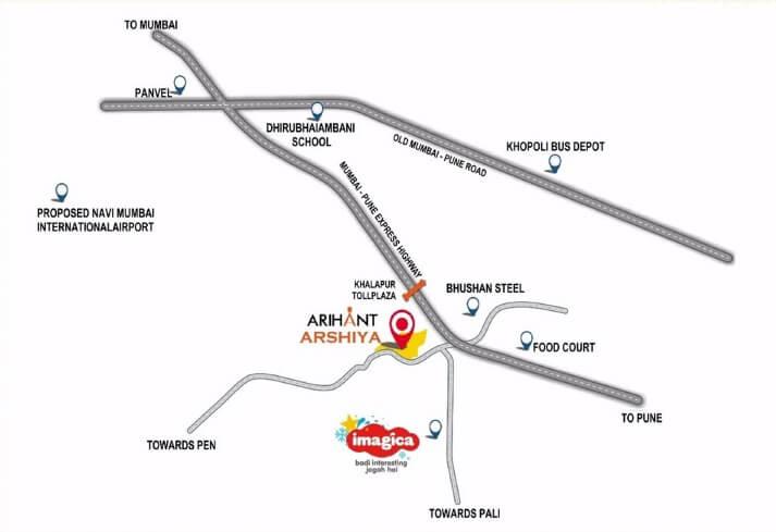arihant arshiya location image1