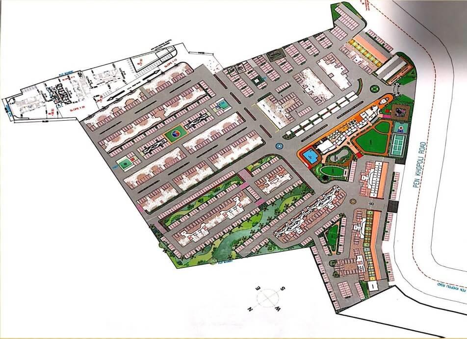 arihant arshiya master plan image1