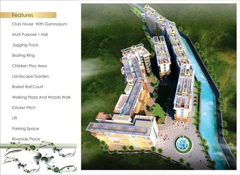 balaji dream city project master plan image1