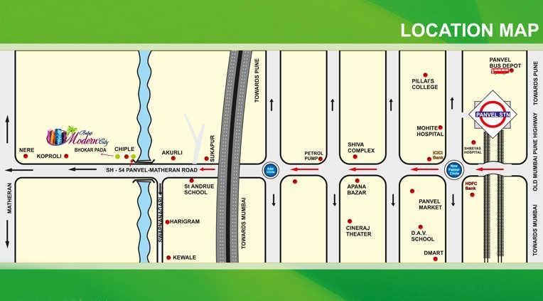 balaji modern city project location image1