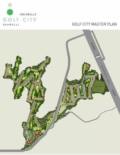 indiabulls golf city project master plan image1