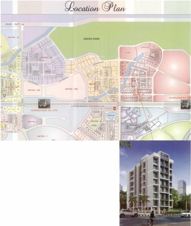 krish bhakti niwas project location image1