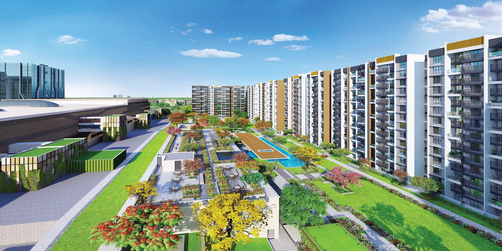 l and t seawoods residences project project large image1