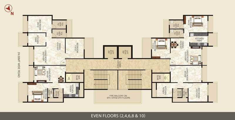 lakhani sky ways project floor plans1