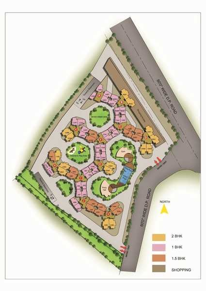 lakhanis orchid woods project master plan image1