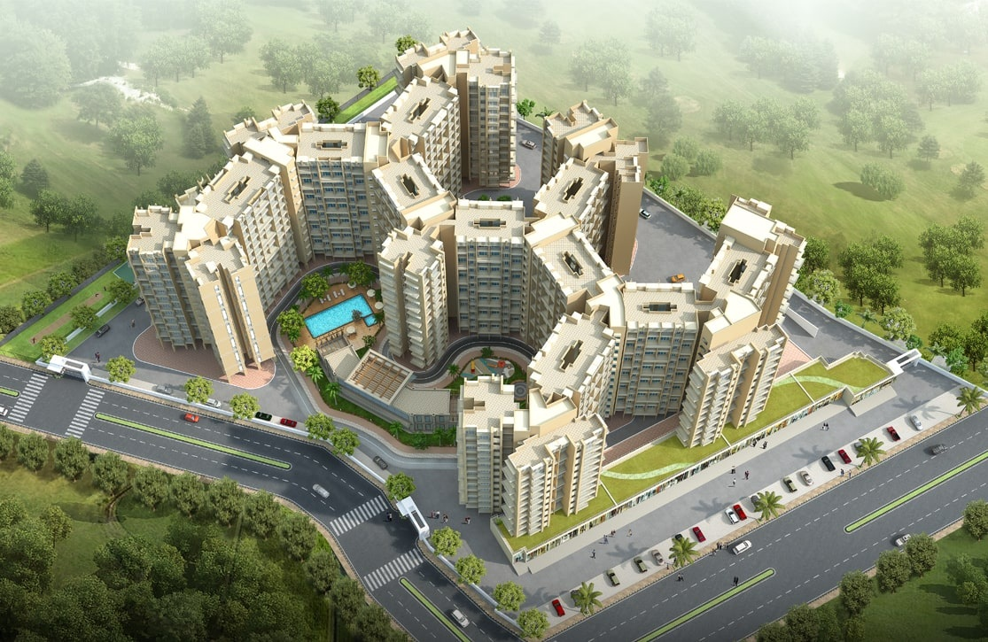 lakhanis orchid woods project tower view2