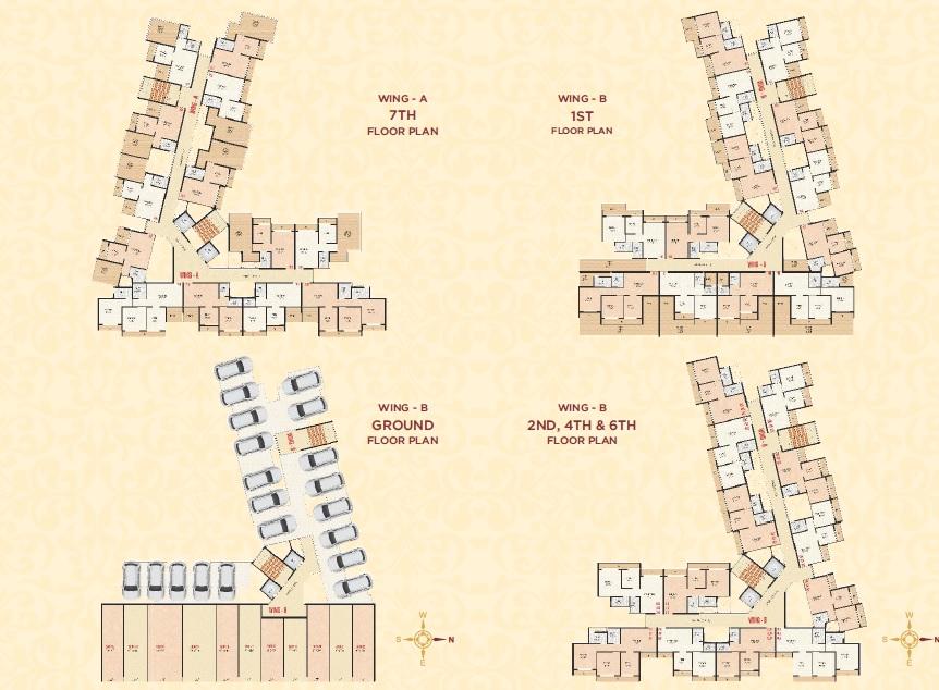 laxmi orchid project floor plans1
