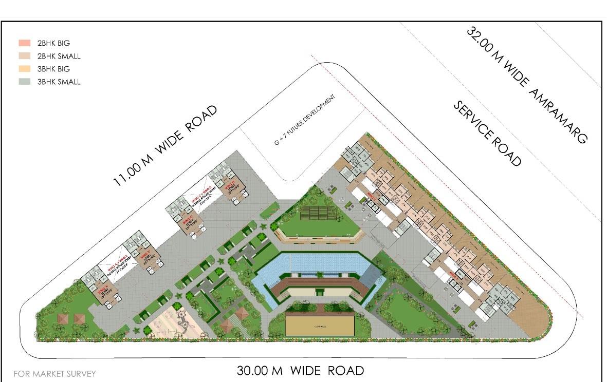 moreshwar 19 east project master plan image1