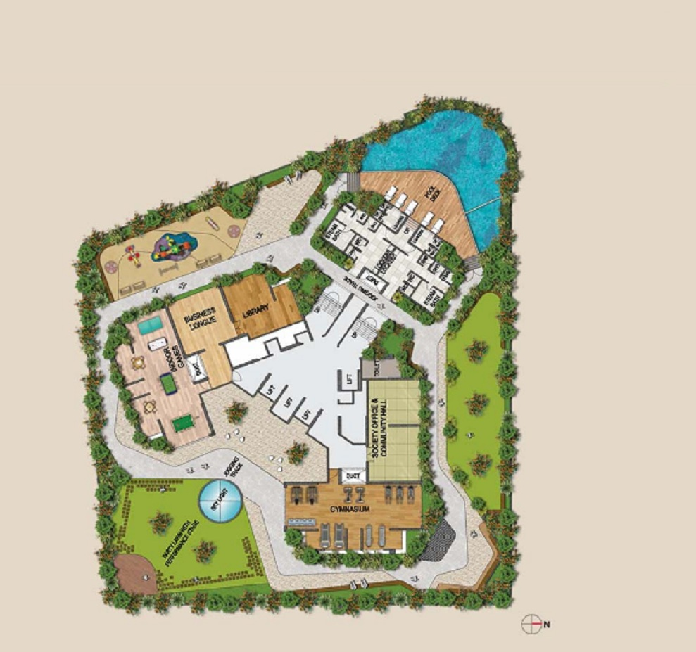 paradise  sai wonder project master plan image1