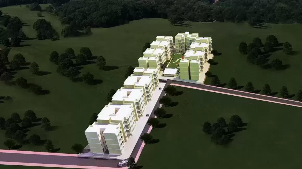 poddar housing samruddhi hill view project tower view1