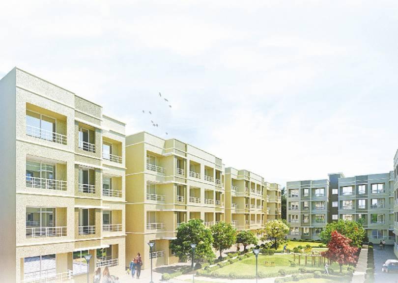 poddar housing samruddhi hill view project tower view5