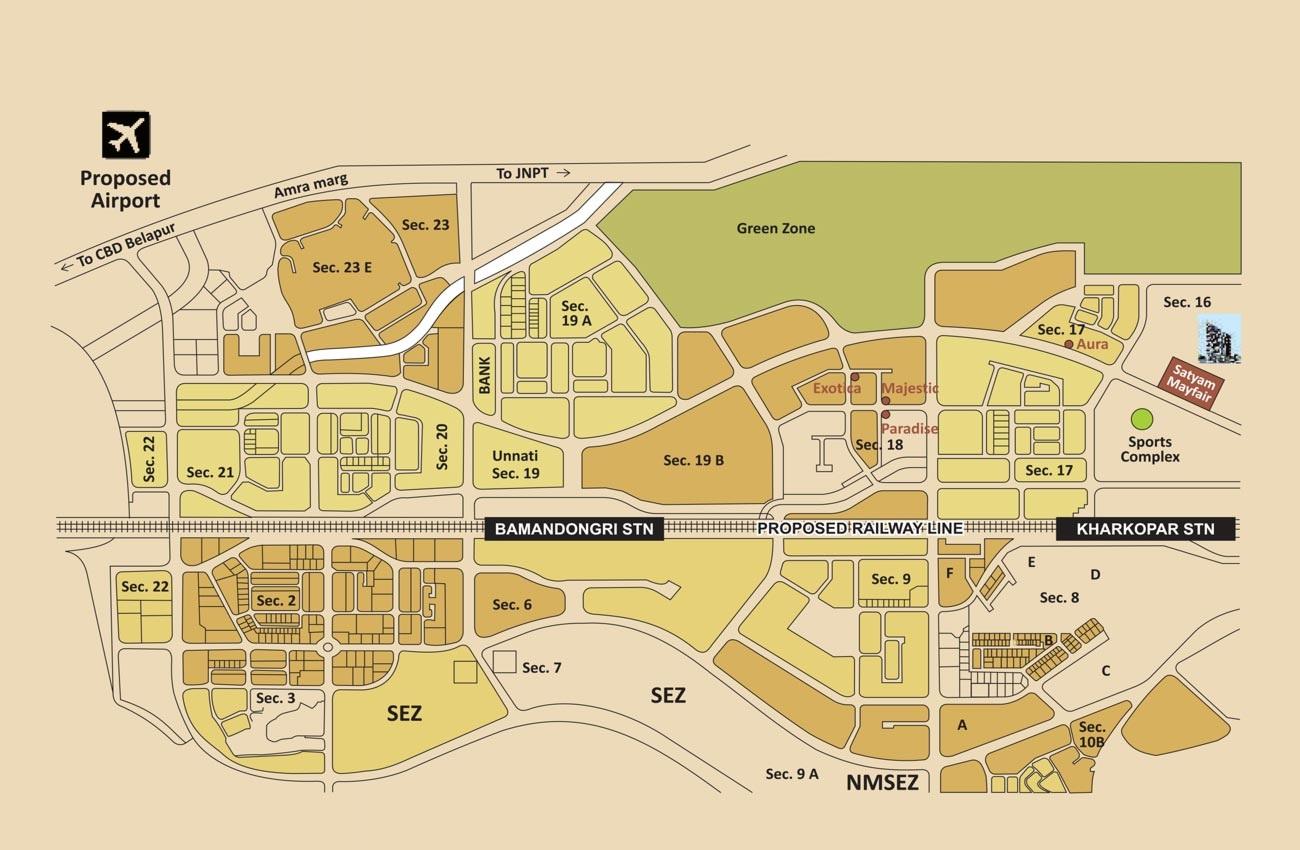 satyam mayfair location image4