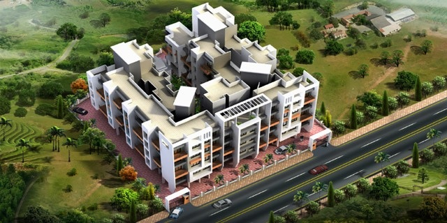 shree siddhivinayak residency tower view4