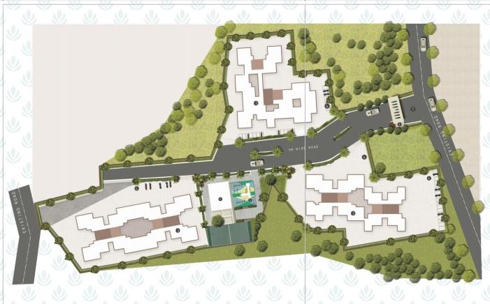 shreemangal naman residency project master plan image1
