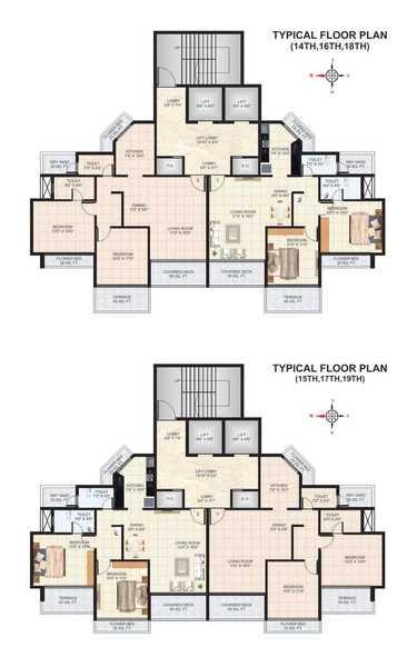 skylark apartments project floor plans1