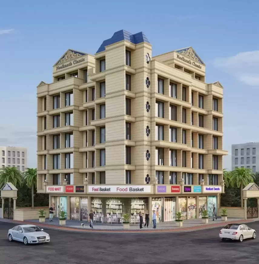 skytech neelkanth classic project tower view1