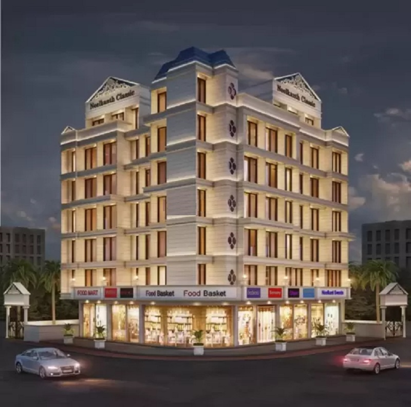 skytech neelkanth classic project tower view2