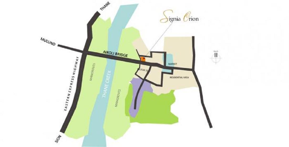 sunteck signia orion project location image1