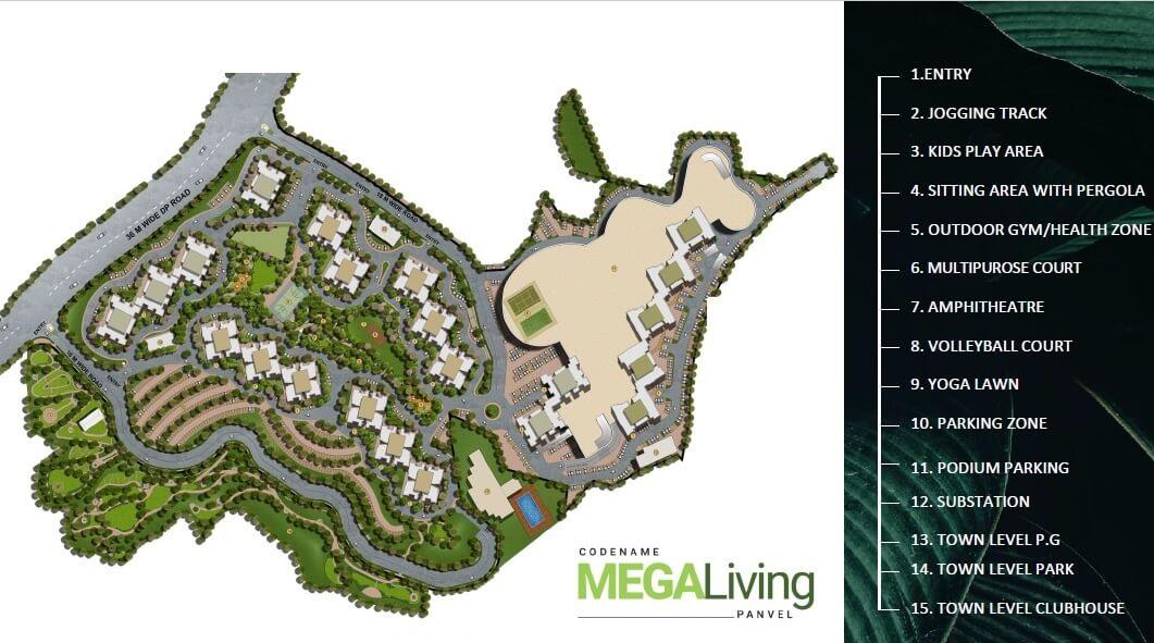 wadhwa wise city south block phase 1 b6 wing a4 master plan image4