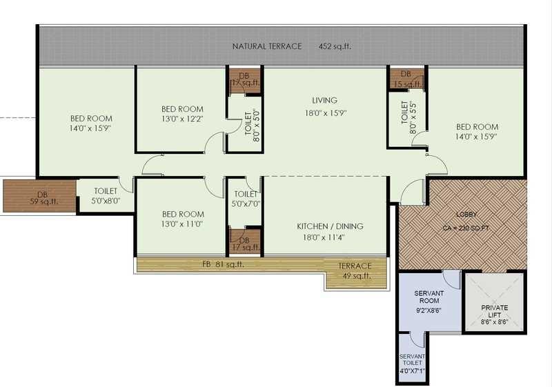 akshar one akshar apartment 4 bhk 1196sqft 20214307174305