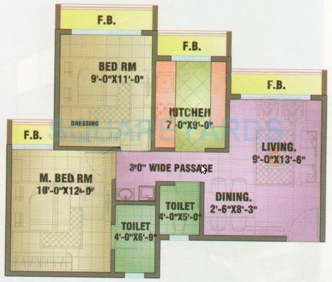 arihant amisha apartment 2bhk 550sqft41