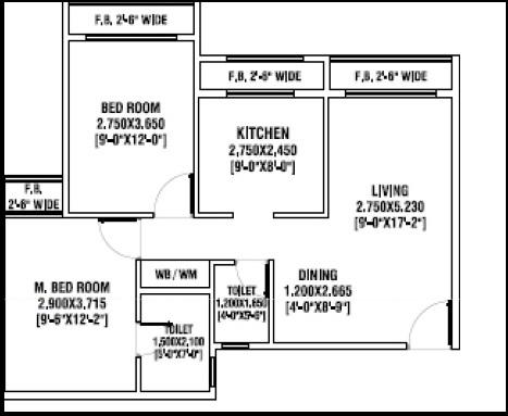 arihant anshula apartment 2bhk 505 sqft111