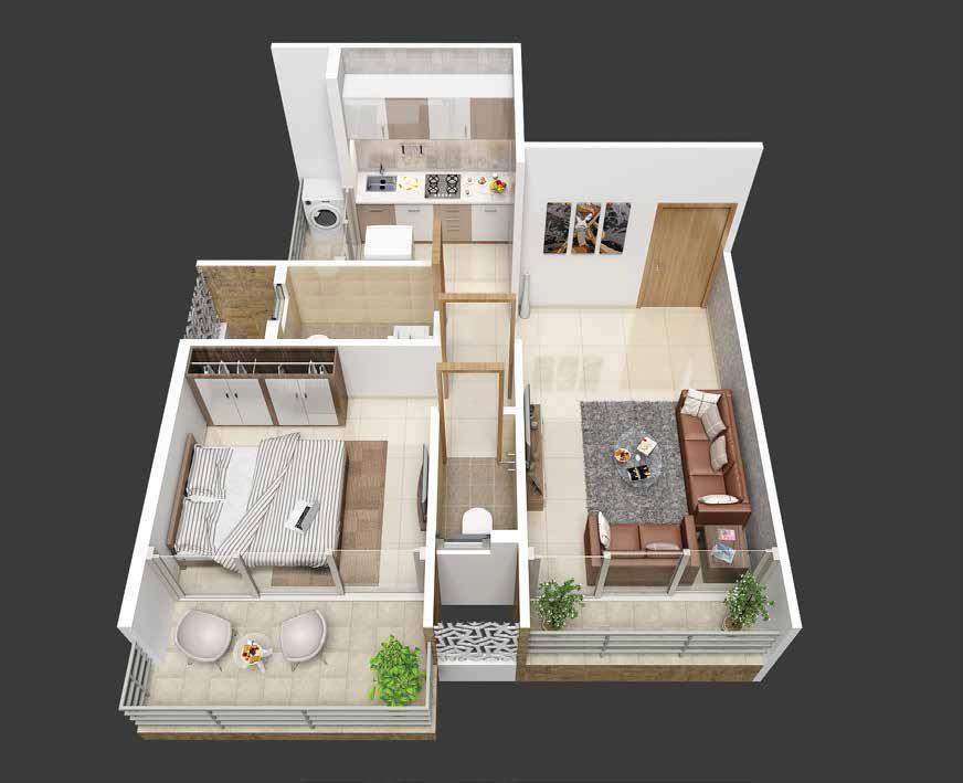 dweepmala baline dwellings apartment 1 bhk 232sqft 20213521113539