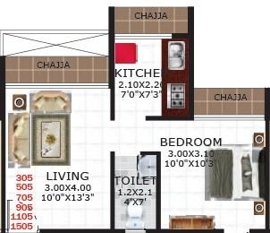 gami viona apartment 1bhk 312sqft21